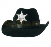 Palarie Black Sheriff