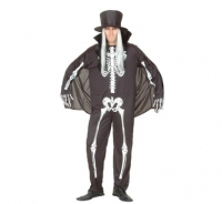 Costum Halloween - Schelet Gentleman